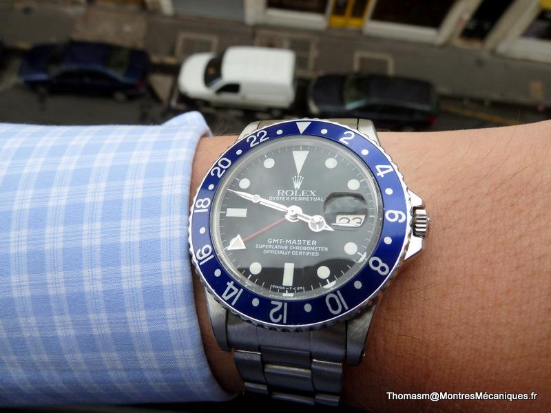 Les Rolex 1675 insert bleu P1040914