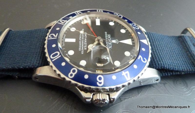 Les Rolex 1675 insert bleu P1040916