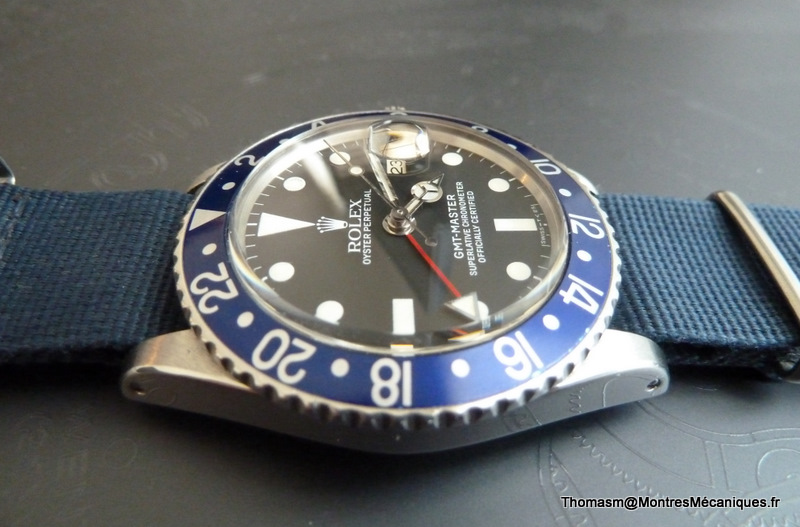 Les Rolex 1675 insert bleu P1040917