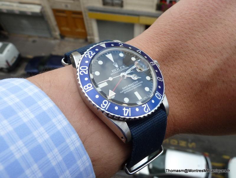 Les Rolex 1675 insert bleu P1040918