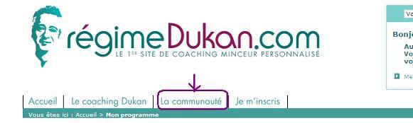 Le site de Coatching du Docteur Dukan Inscri13