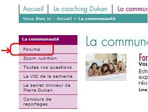 Le site de Coatching du Docteur Dukan Inscri14