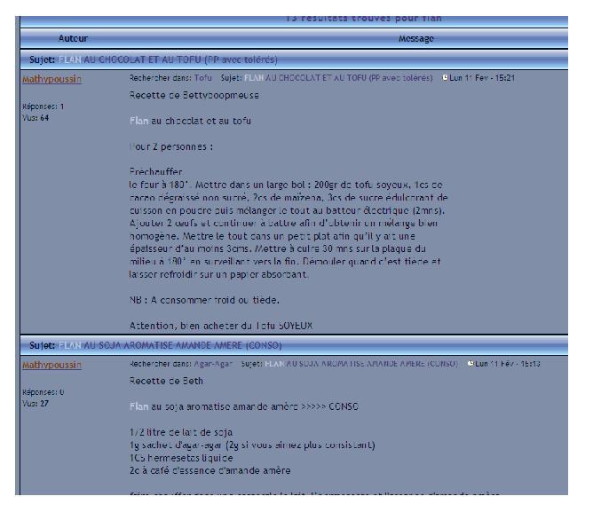 Comment rechercher un post sur le forum ? Recher14