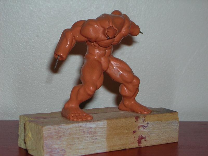 Figurine minotaure / gally (gunnm) / tortue ninja Dscn5210