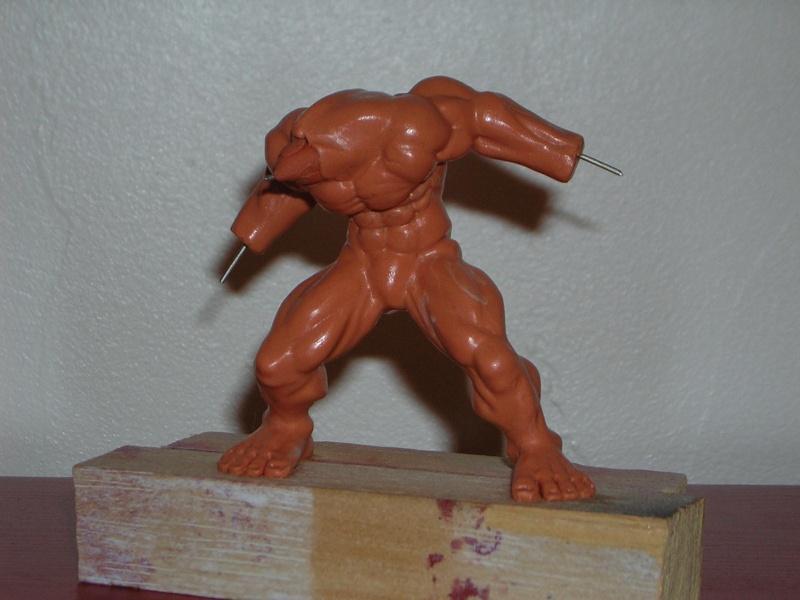 Figurine minotaure / gally (gunnm) / tortue ninja Dscn5211