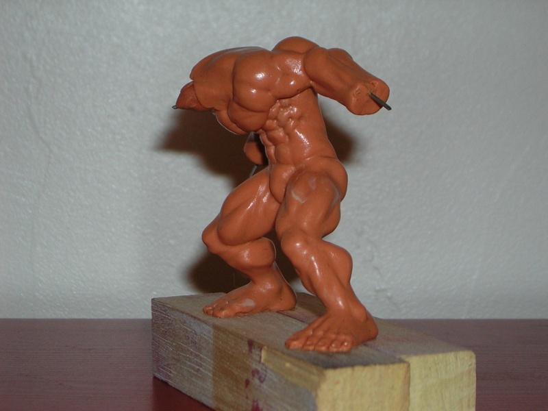 Figurine minotaure / gally (gunnm) / tortue ninja Dscn5212