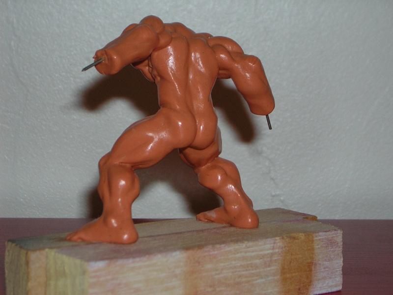 Figurine minotaure / gally (gunnm) / tortue ninja Dscn5213