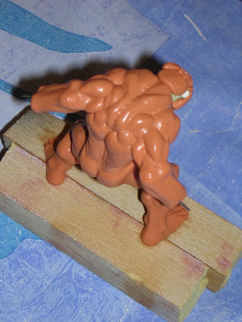 Figurine minotaure / gally (gunnm) / tortue ninja Dscn5217