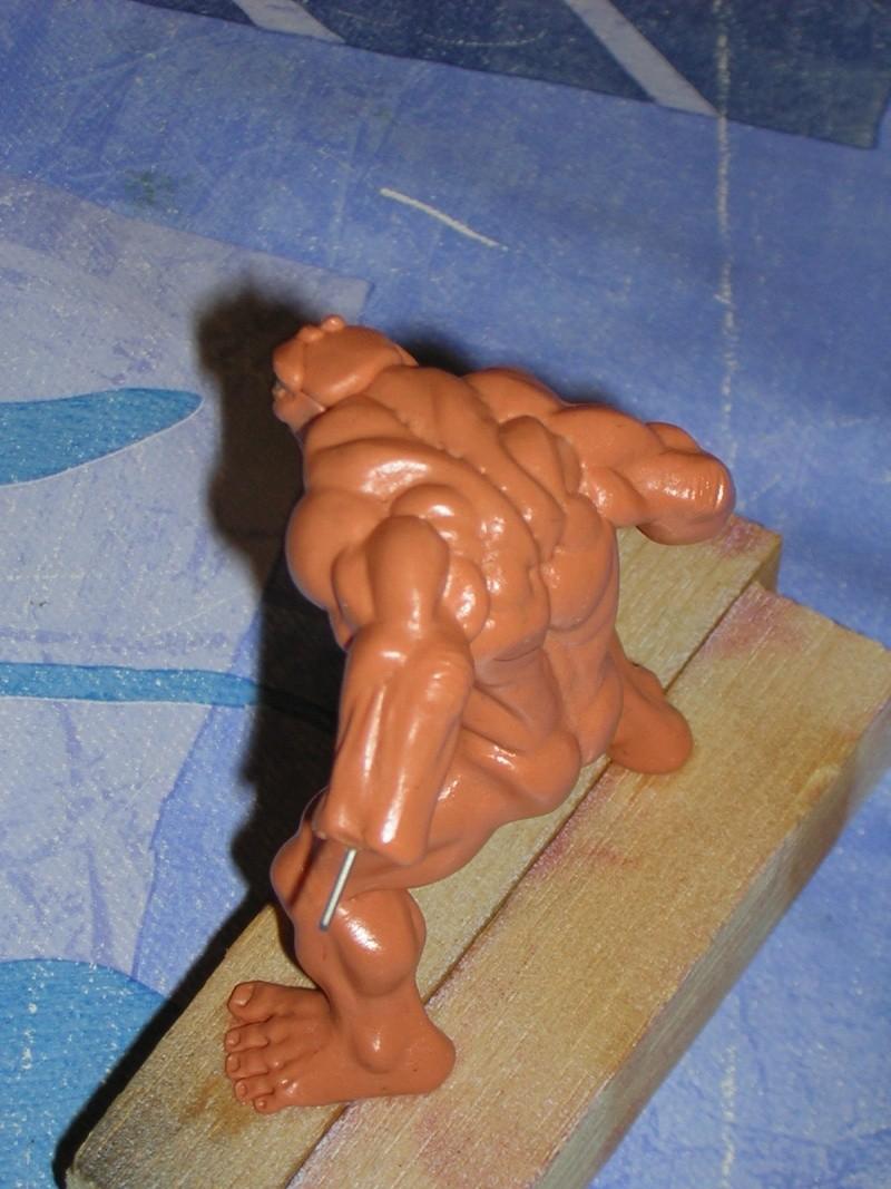 Figurine minotaure / gally (gunnm) / tortue ninja Dscn5218