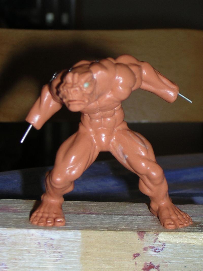 Figurine minotaure / gally (gunnm) / tortue ninja Dscn5220