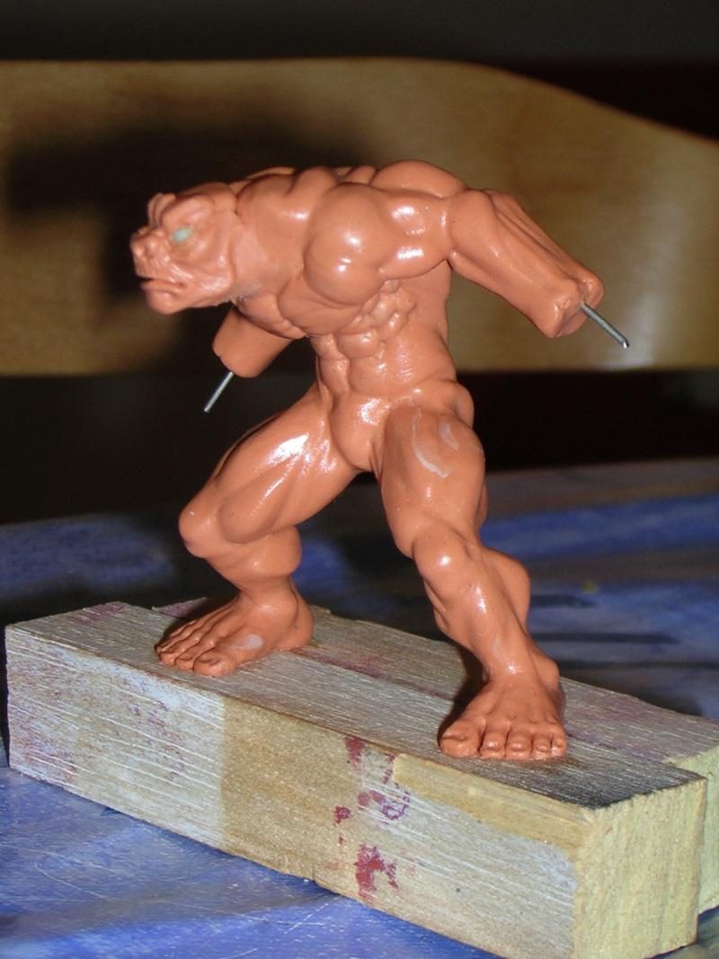 Figurine minotaure / gally (gunnm) / tortue ninja Dscn5221