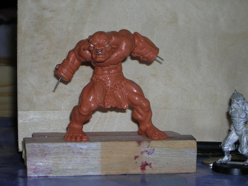 Figurine minotaure / gally (gunnm) / tortue ninja Dscn5222