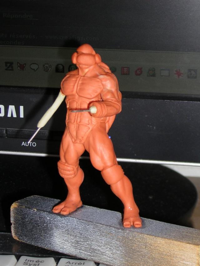 Figurine minotaure / gally (gunnm) / tortue ninja - Page 2 Dscn5233