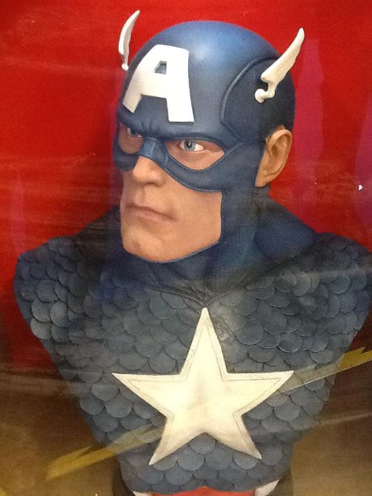 CAPTAIN AMERICA  Life size bust 42327710