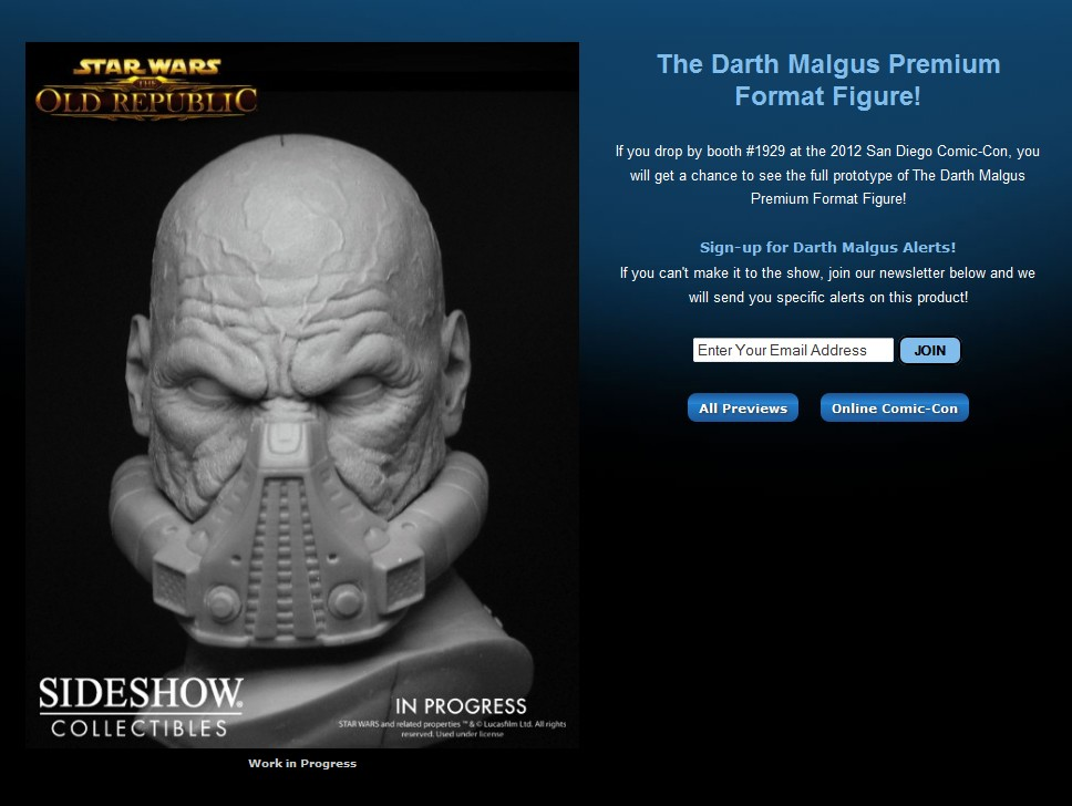STAR WARS: DARTH MALGUS Premium format Malgus11