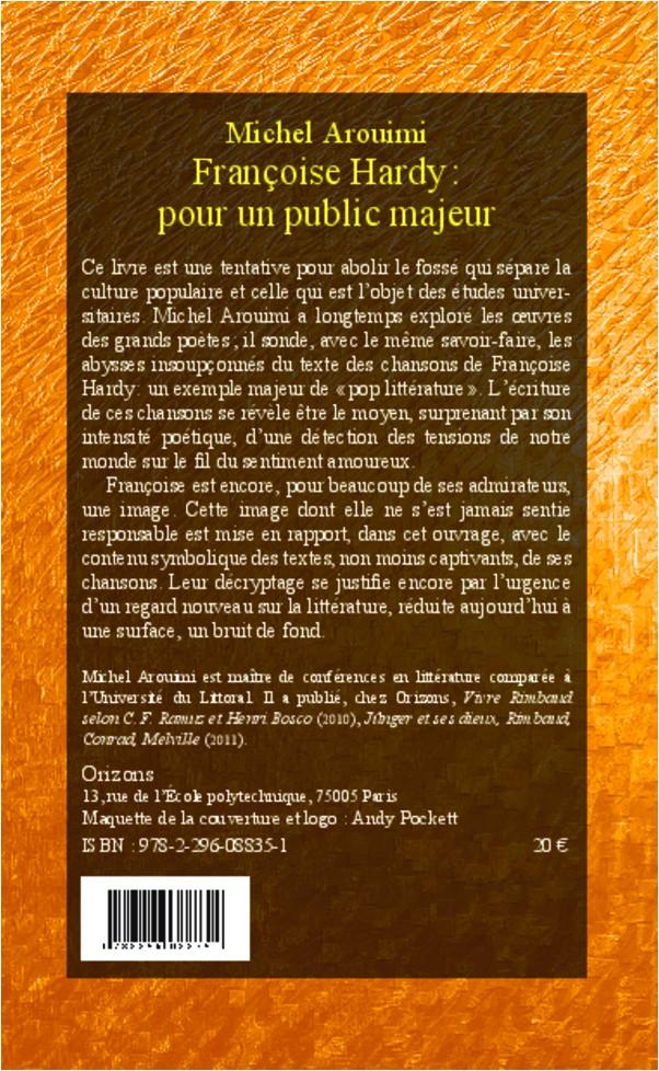 Françoise HARDY : Pour un public majeur 97822910