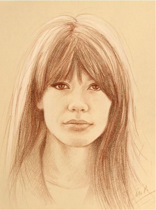 Portrait de Françoise par Isa M Fh_ida10
