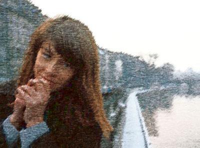 Françoise Hardy par Bernard Buffet Franco22