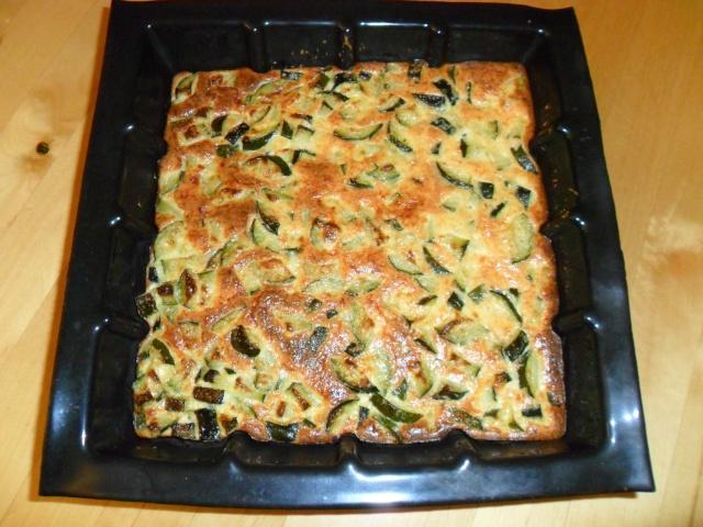 Tarte aux courgettes sans pâte 00426