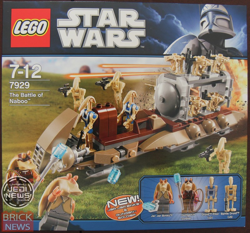 Lego Star Wars - 7929 - Star Wars The Battle of Naboo 7929_b10