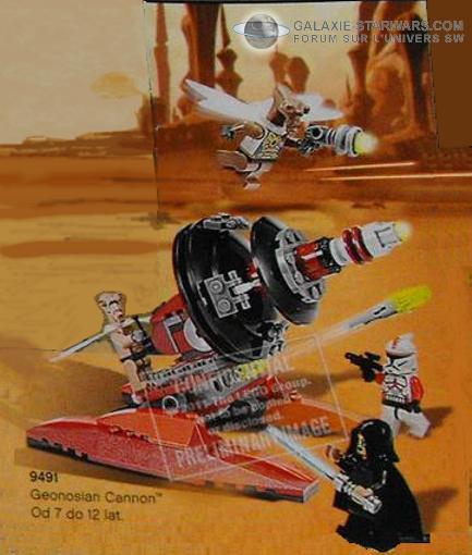 LEGO STAR WARS - 9491 - GEONOSIAN CANNON 9491_g10