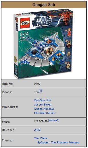 LEGO STAR WARS - 9499 - Gungan Sub  9499_010
