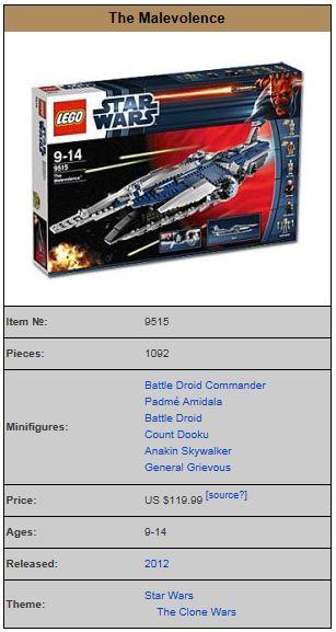 LEGO STAR WARS - 9515 - Malevolence  9515_010