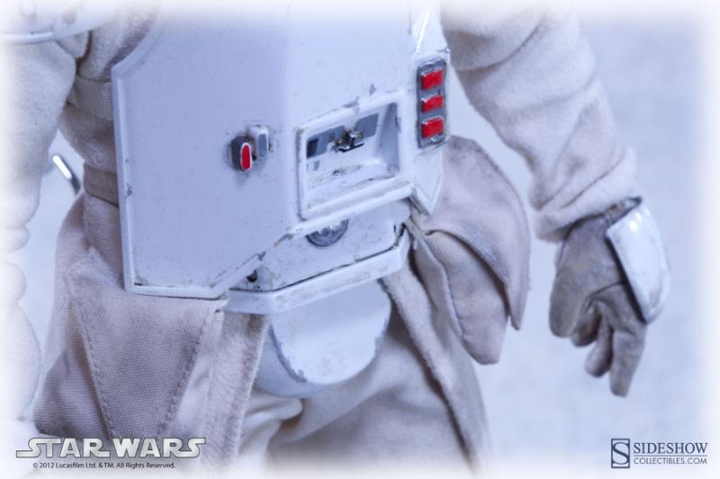 "Sideshow Collectibles - 12"" - Snowtrooper Hoth Battle  Snowtr10"