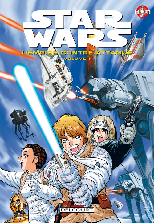 Star Wars - Manga - L'Empire contre-attaque - DELCOURT Star_w19