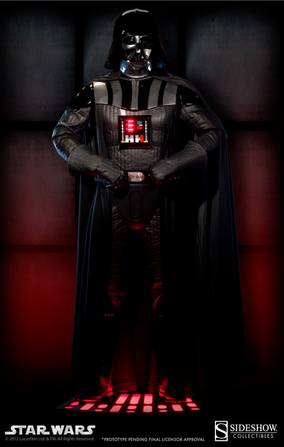 Sideshow - Darth Vader Life-Size Figure - Page 2 Vader_12