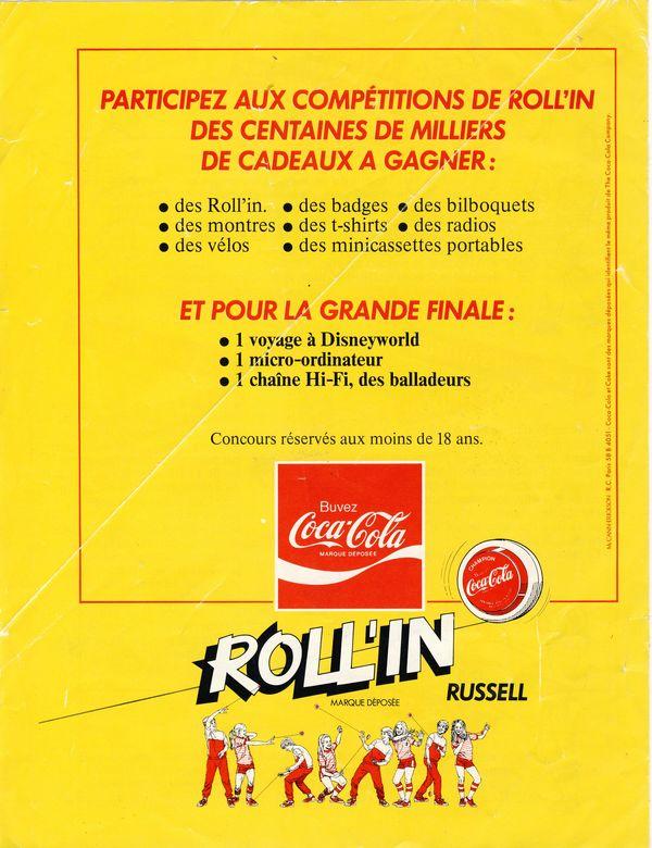 Roll-in les Yoyos de Coca cola, Sprite, Fanta (1985) 4_800x10