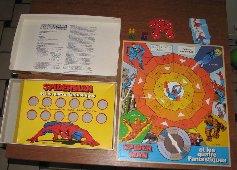 Les jeux de société vintage : rôle, stratégie, plateaux... Spider11
