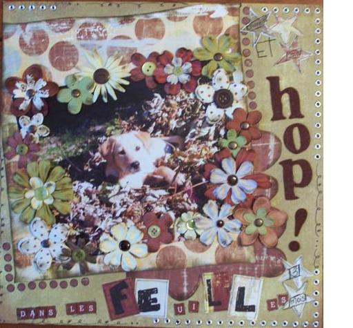 31 juillet: Adorable et Hop dans les feuilles.. Chanel10