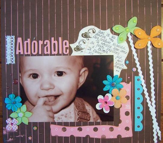 31 juillet: Adorable et Hop dans les feuilles.. Opheli11
