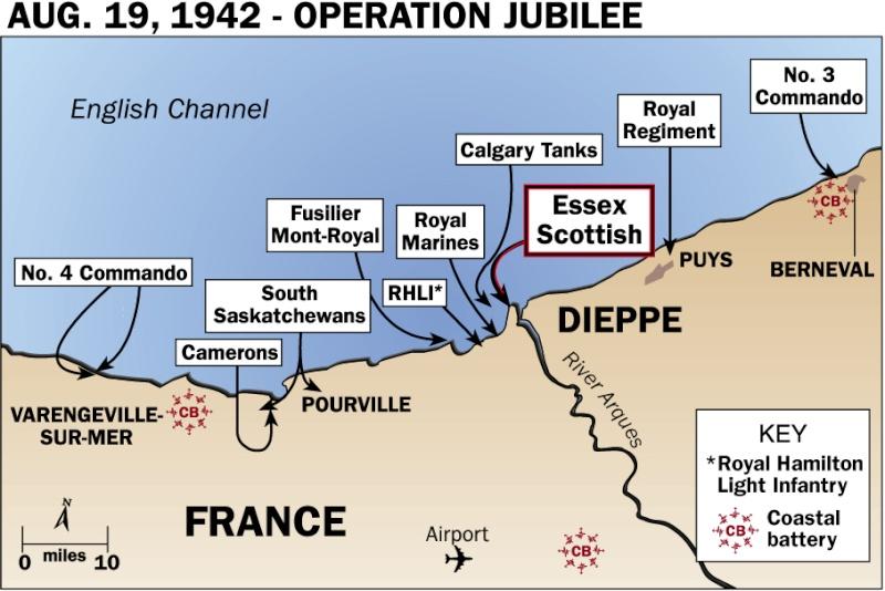 "opération ""Jubilee"" Dieppe15"
