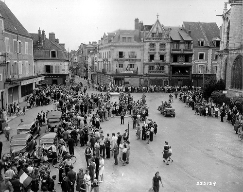 Montargis : images de la Libération 23 Août 1944 Montar10