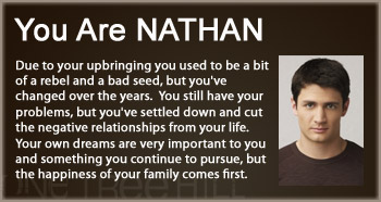 Which OTH character are you? Oth-na10