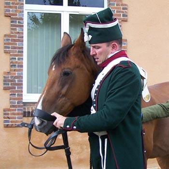 Chasseurs à cheval en grand' garde 03080810