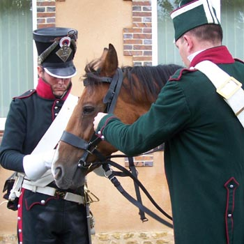 Chasseurs à cheval en grand' garde 03080811