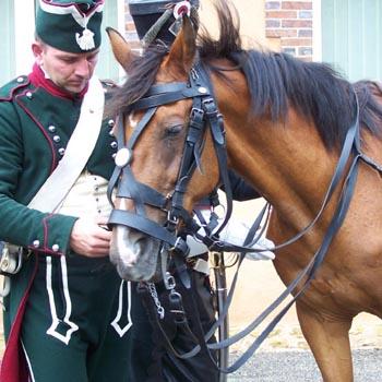 Chasseurs à cheval en grand' garde 03080812