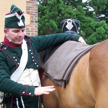 Chasseurs à cheval en grand' garde 03080814
