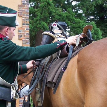 Chasseurs à cheval en grand' garde 03080815