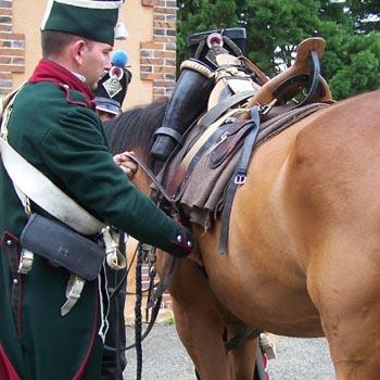 Chasseurs à cheval en grand' garde 03080816