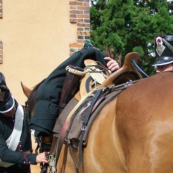 Chasseurs à cheval en grand' garde 03080820