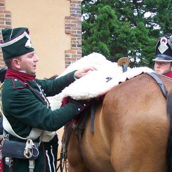 Chasseurs à cheval en grand' garde 03080821