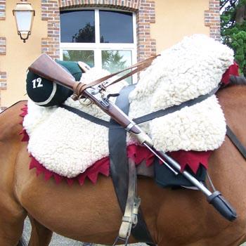 Chasseurs à cheval en grand' garde 03080825