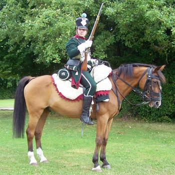 Chasseurs à cheval en grand' garde 03080826