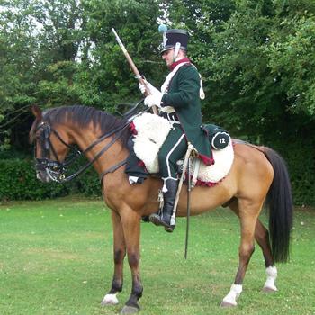 Chasseurs à cheval en grand' garde 03080827