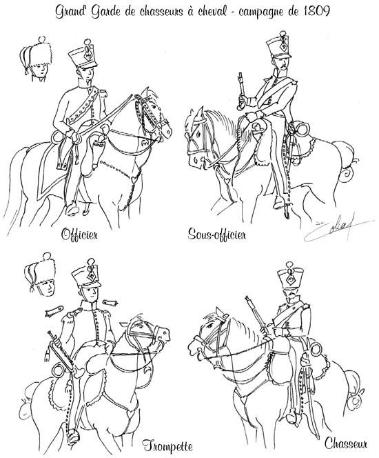 Chasseurs à cheval en grand' garde Grand-10