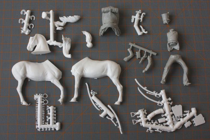 Chasseurs à cheval en grand' garde Grand-12